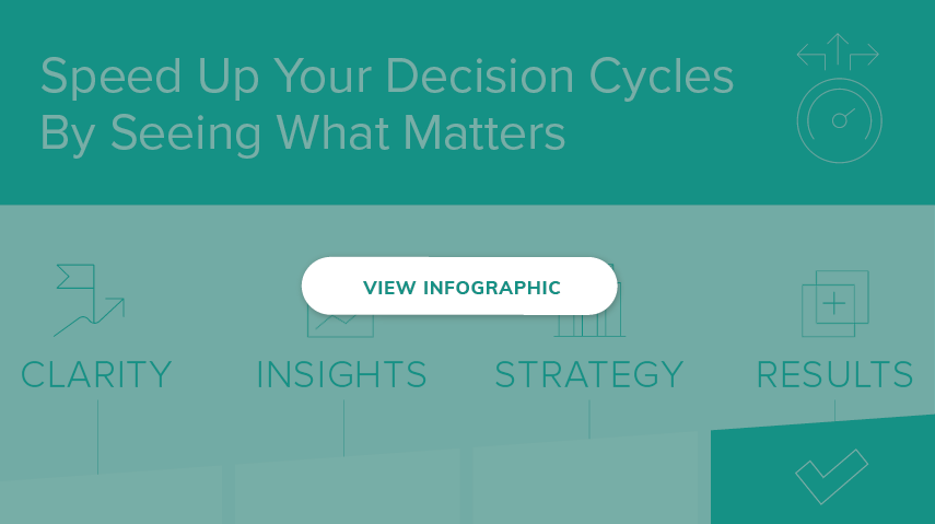 Speed Up Your Decision Cycles by seeing what matters for the decisions you need to make